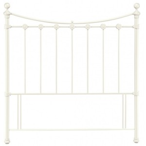 Bentley Designs Alice Antique White Headboard Double 4ft6