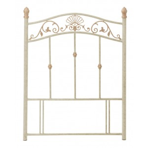 Bentley Designs Angelica Fossilstone and Gold Headboard Single 3ft