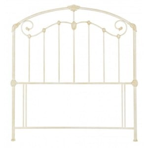 Bentley Designs Lauren Antique White Headboard Kingsize 5ft