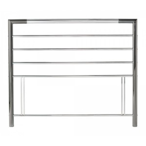 Bentley Designs Urban Nickel and Chrome Headboard Kingsize 5ft