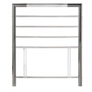 Bentley Designs Urban Nickel and Chrome Headboard Single 3ft