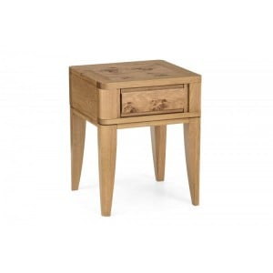 Bentley Designs High Park Furniture Lamp Table With Drawer