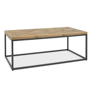Bentley Designs Indus Oak Furniture Coffee Table