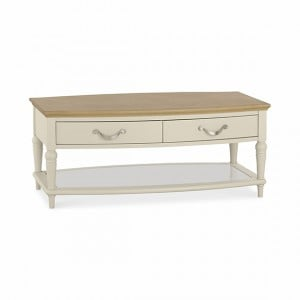 CLEARANCE Montreux Oak & Antique White Furniture Coffee Table