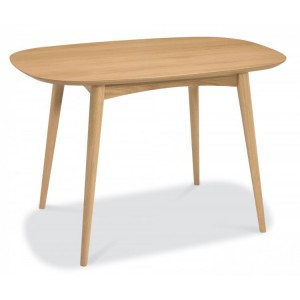 Bentley Designs Oslo Oak Furniture 4 Seater Dining Table