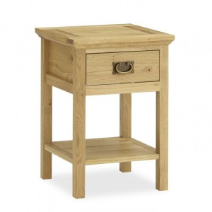 Bentley Designs Provence Oak Furniture Lamp Table