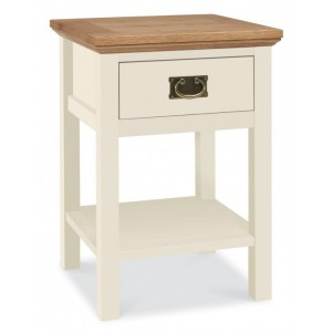 Bentley Designs Provence Painted Oak Furniture Lamp Table