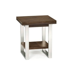 Bentley Designs Tivoli Dark Oak Furniture Lamp Table