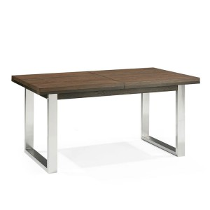 Bentley Designs Tivoli Dark Oak Furniture 4-6 Extending Dining Table