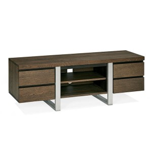 Bentley Designs Tivoli Dark Oak Furniture Wide Entertainment Unit