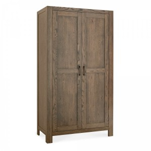 Bentley Designs Turin Dark Oak Double Wardrobe