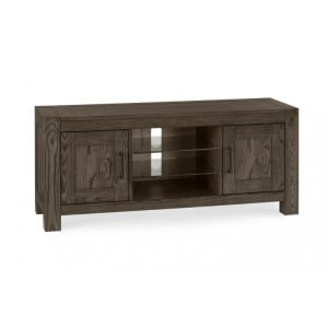 Bentley Designs Turin Dark Oak Entertainment Unit