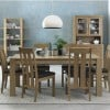 Bentley Designs Turin Light Oak Medium End Extending Table