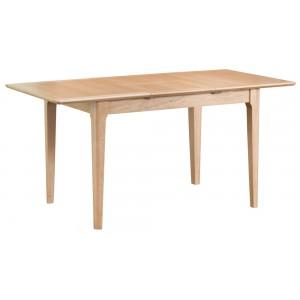 Bergen Oak Furniture 1.2m Butterfly Extending Table