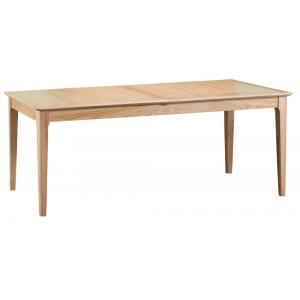 Bergen Oak Furniture 2m Butterfly Extending Table