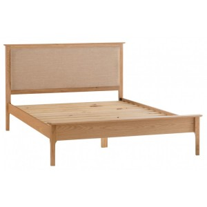 Bergen Oak Furniture 5'0 Slatted Bed