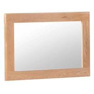 Bergen Oak Furniture Wall Mirror