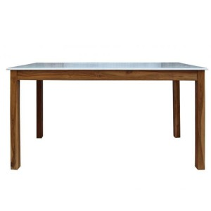 Durban Collection Dining Table with Marble Top