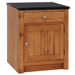 Evelyn Oak Kitchen Furniture 1 Door 1 Drawer Right Hand Unit