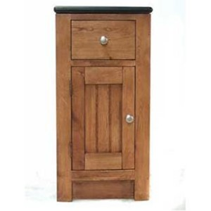 Evelyn Oak Kitchen Furniture Left Hand 1 Door 1 Drawer Filler Unit