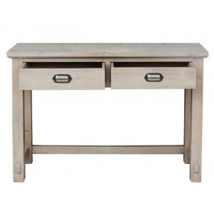 Homestead Recycled Pine Grey Furniture 2 Drawer Dressing Table