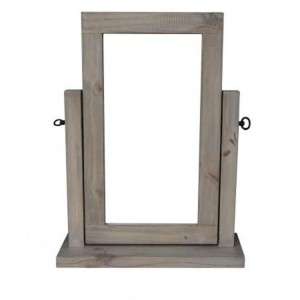 Homestead Recycled Pine Grey Furniture Dressing Table Mirror