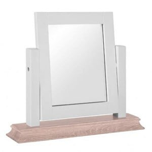 Rosa Light Grey Painted Furniture Dressing Table Mirror