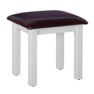Rosa Light Grey Painted Furniture Dressing Table Stool KD