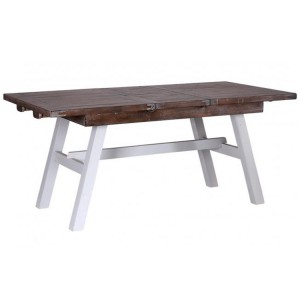 The Hamptons Pine Furniture 140-180cm Extending Dining Table