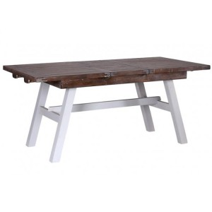 The Hamptons Pine Furniture 180-230cm Large Extending Dining Table