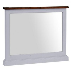 The Hamptons Pine Furniture Large Rectangular Mirror