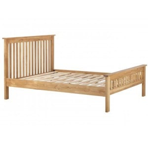 Vancouver Compact Oak Furniture 4ft6in Double Bed Frame