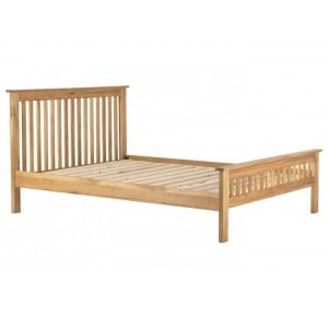Vancouver Compact Oak Furniture 5ft King Size Bed Frame