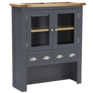 Vancouver Expressions Down Pipe Furniture 4 Drawer 2 Door Hutch