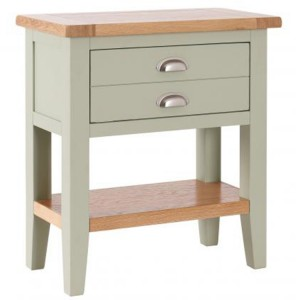 Vancouver Expressions French Grey Furniture 1 Drawer Console Table