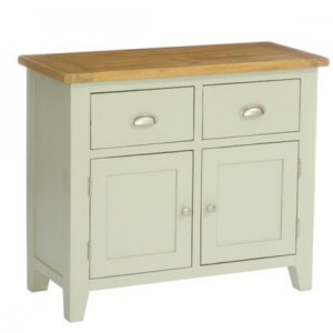 Vancouver Expressions French Grey Furniture 2 Drawer 2 Door Buffet