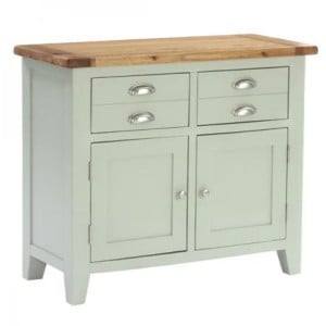 Vancouver Expressions French Grey Furniture 2 Drawer 2 Door Sideboard