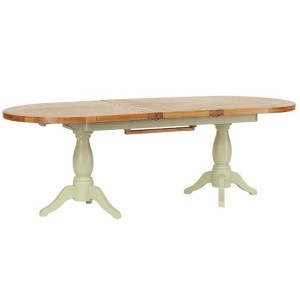 Vancouver Expressions French Grey Furniture 240cm Ext. Dining Table