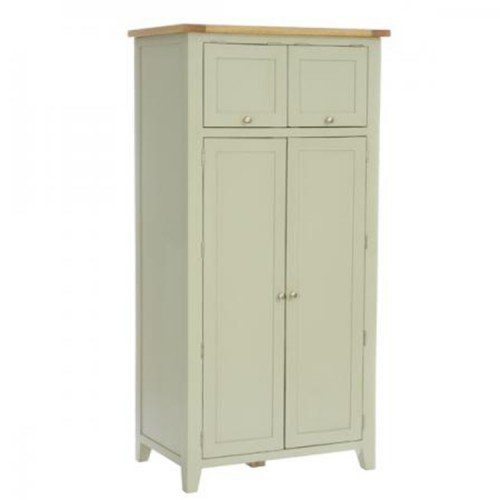 Vancouver Expressions French Grey Furniture Larder with Cupboard