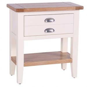 Vancouver Expressions Linen Furniture 1 Drawer Console Table