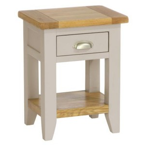 Vancouver Expressions Potters Wheel Furniture 1 Drawer Bedside Table
