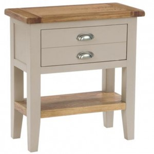 Vancouver Expressions Potters Wheel Furniture 1 Drawer Console Table