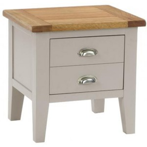 Vancouver Expressions Potters Wheel Furniture 1 Drawer Lamp Table