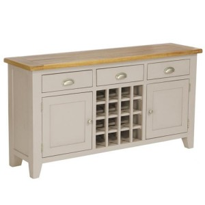 Vancouver Expressions Potters Wheel Furniture 3 Drawer Wine Table