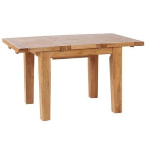 Vancouver Petite VSP Solid Oak Furniture 140cm Extending Dining Table
