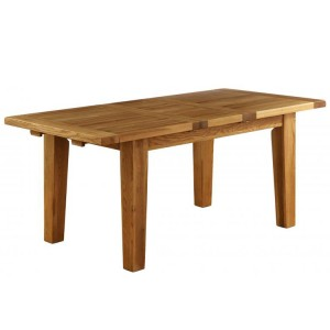 Vancouver Petite VSP Solid Oak Furniture 230cm Extending Dining Table