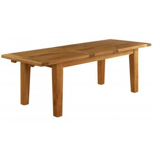 Vancouver Premium Solid Oak Extension Dining Table 1.8 - 2.3m
