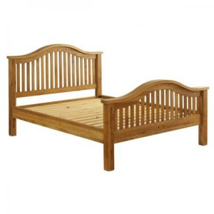 Vancouver Premium Solid Oak High End 3ft Single Bed Frame