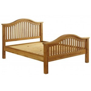 Vancouver Premium Solid Oak High End 5ft King Size Bed Frame