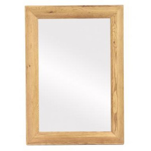 Vancouver Premium Solid Oak Large Rectangular Mirror